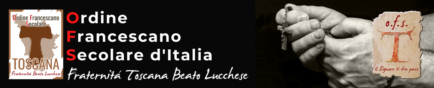 ORDINE FRANCESCANO SECOLARE TOSCANA